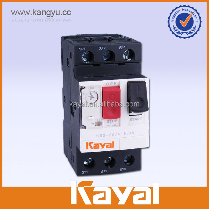 AC Combined Thermal Overload short circuit protection of motor
