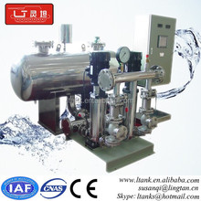 frequency water supply booster pump control system