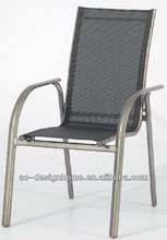 2X1 SLING/ALUMINIUM OUTDOOR STACKING CHAIR