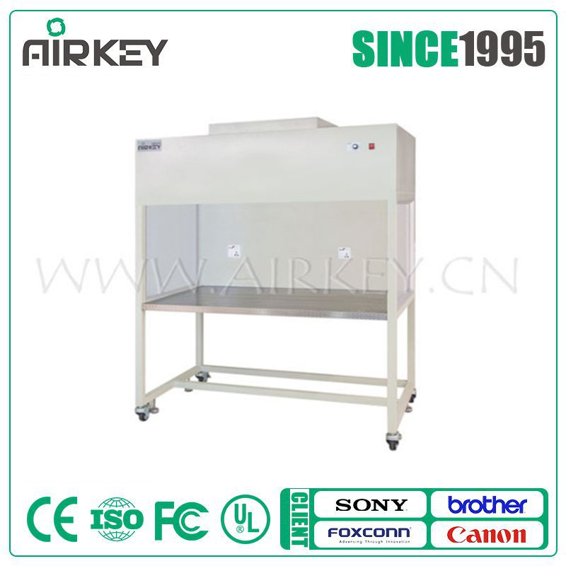 Class 100 laminar air flow clean bench with 99.99% hepa filter