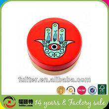 New trends empty recycle fancy round soap box manufacturer