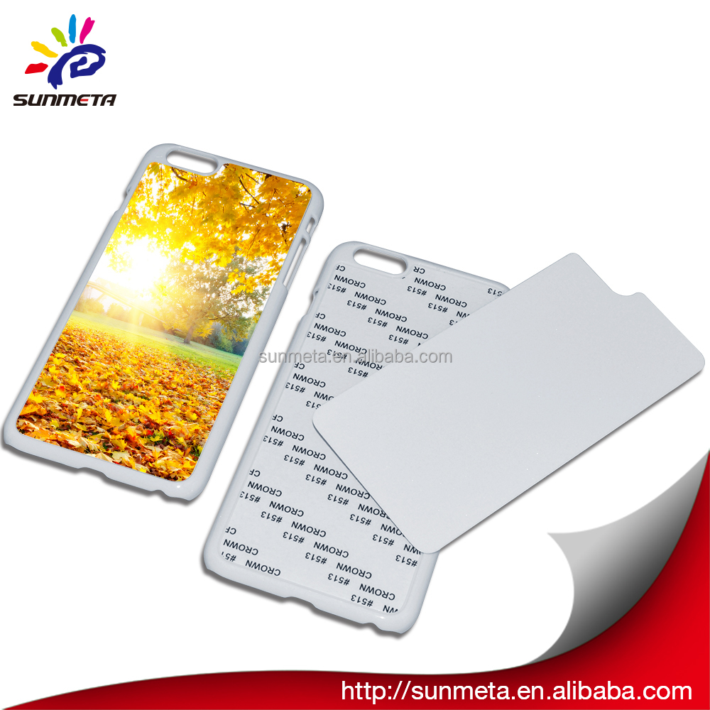 sublimation phone case with aluminum sheet for IPHONE5