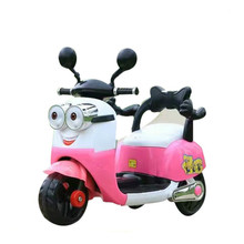 2017 New Products Plastic Motor Bike Kids Toys Car Electric Motorcycle For Girls