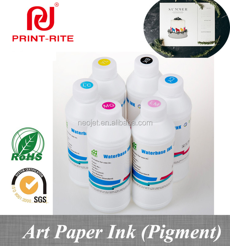 good quality art paper type digital printing ink for epson L series canon printer poster photography printing