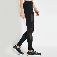 OEM Service Gym Wear Great Stretch Jogging Tights Wholesale Yoga Mesh Pants For Women
