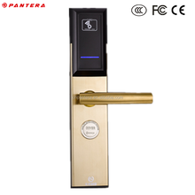 Key Card Wireless Computer Control RFID Smart Hotel Lock for Sale Price