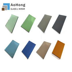 Blue Bronze Grey Green Pink Clear Tinted Glass Mirror for Windows Price