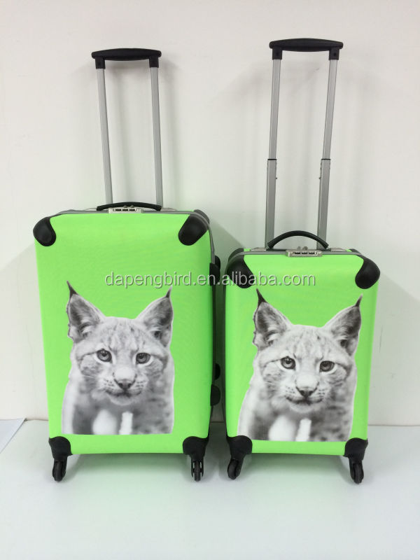 children cartoon trolley travel car luggage and bags