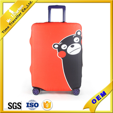 waterproof spandex foldable luggage cover