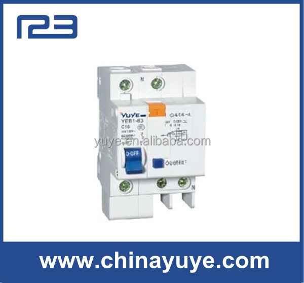 ELCB Earth residual current protect C45LEarth Leakage Circuit Breaker