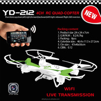 YD-212 2015 hot sell new quadcopter wifi control ufo toys