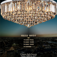 Modern Europe Crystal Chandelier Pendant Lamp