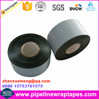 Bitumen asphalt tape for anti corrosion of underground flange valve fitting