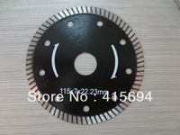 115X7X22.23mm Profiled diamond saw blade for tiles, granite,concrete,marble