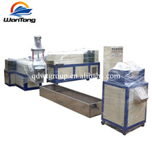 Recycled Plastic Film Pelletizer Single Screw PP PE Granulating Machine
