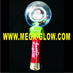 special light up santa spinner,Magic Spinner Wands , Gleaming Space Ball Spinner
