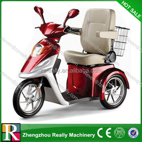 Made in china electric mobility scooter handicapped tricycle for sale