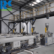 PVC pipe tube conduit making extrusion production machine with price