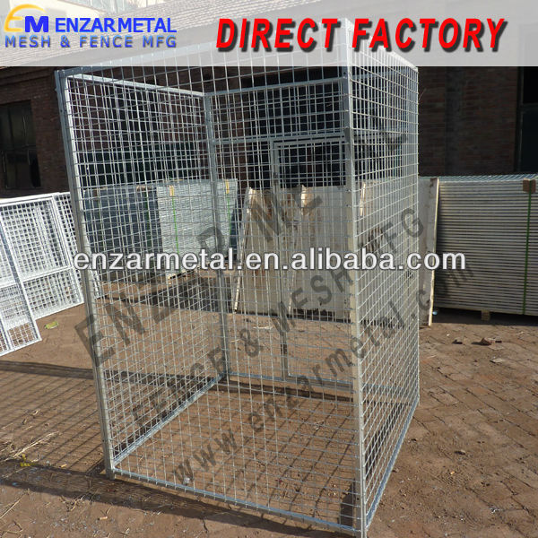 Dog Kennel Fence / Welded Wire Mesh Dog Kennel
