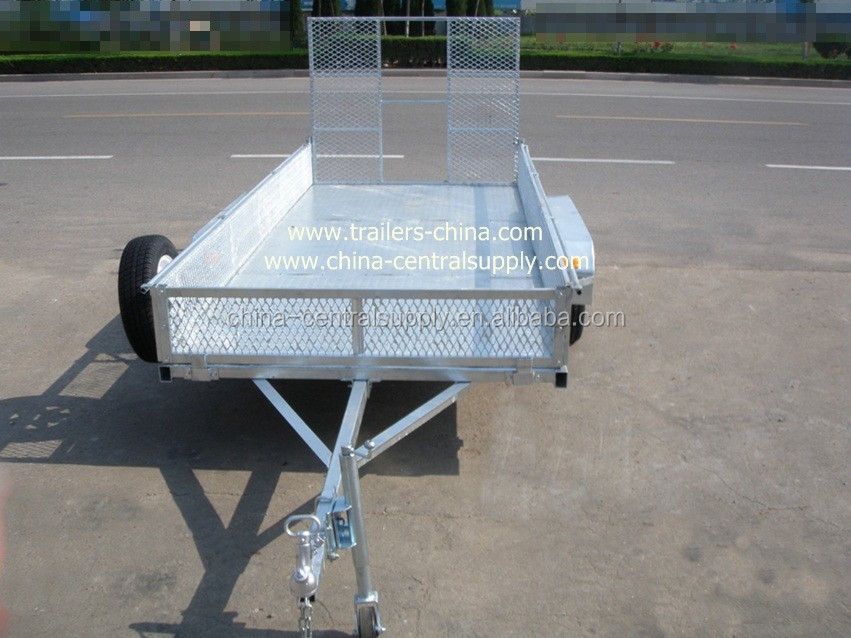 FACTORY MADE GALVANIZED SINGLE AXLE ATV TRAILER CT0090J