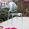 Wholesale Clear Crystal Mirage Plastic Chair