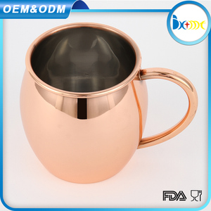 Hot recommended moscow mule cocktail copper brass mugs