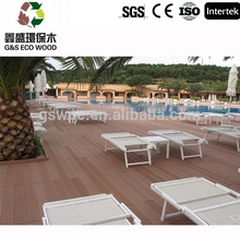 2016 Eco-friendly Anti-UV WPC Flooring Outdoor Decking pvc Wood Plastic Composite