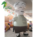 Custom Large Air Man Inflatable Steward Model / Inflatable Chef for Advertisisng Display