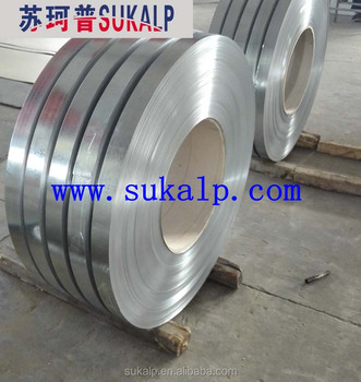 Narrow galvanized steel strip with good price