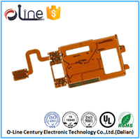 Yellow good quality usb to pci converter pcb board