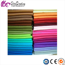 Polyester needle punched nonwoven fabric Soft Felt Of Home Decoration