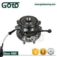 New Auto Parts Front Wheel Bearing 40202-4JA3A Wheel Hub Assembly with ABS for NAVARA 4WD