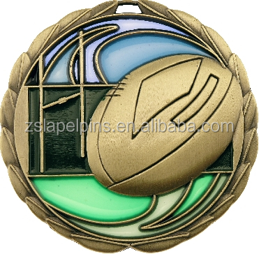 Cheap Custom American Football Sports Medals