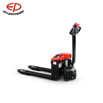 Work permit CE certification 1.5 ton hot sale in alibaba China premium quality mini electric pallet truck