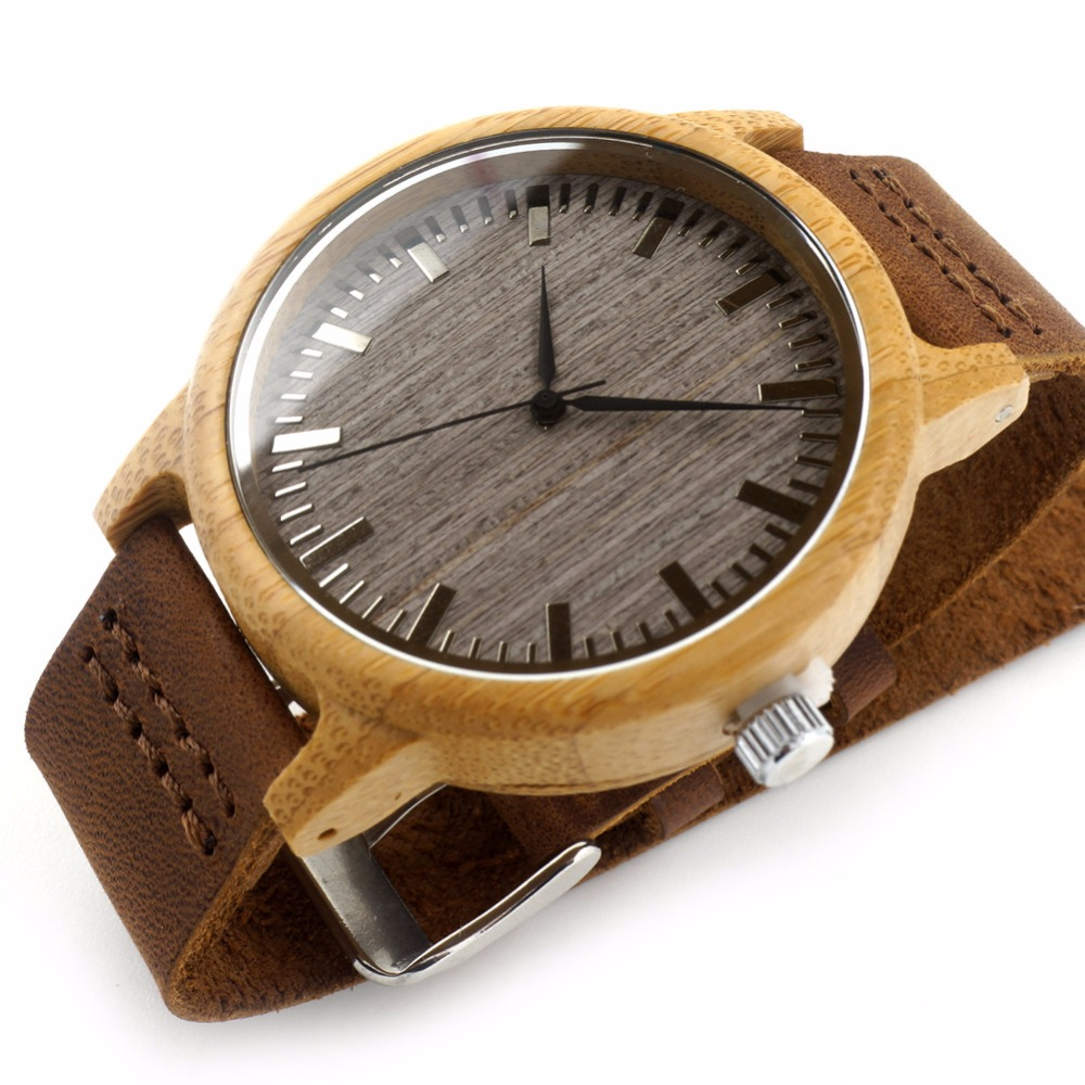 Fashion Wooden Brand Man Vintage Business Classic Men Hand Watch Black For Small Wrists Men Watches Luxury 2016