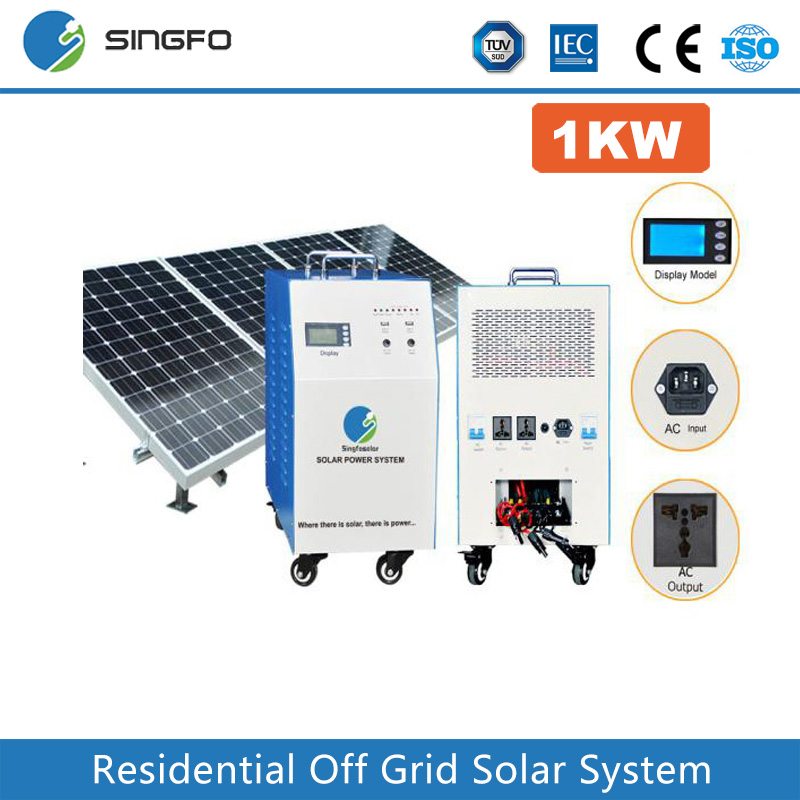 1KW 1.5KW On-grid High Quality Solar System For Home Solar Panel Kits Grid System