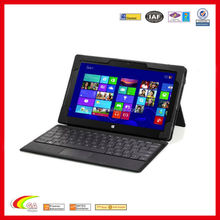 "Detachable Type / Touch Keyboard Sleeve Case for Microsoft Surface Pro / Surface Pro 2 10.6"" Inch Windows 8 Tablet, BLACK"