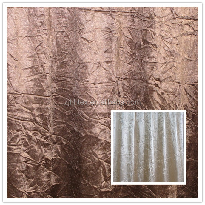 China polyester white satin fabric curtain,fabric curtain market