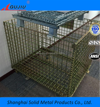 durable Steel Wire Container Steel Wire Mesh Cage