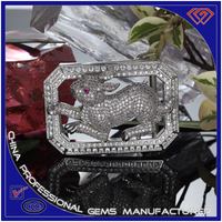 Chinese Zodiac Rabbit Stainless Steel Belt Buckle manufacturers