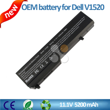 Original universal external laptop battery charger laptop battery for Dell V1520 11.1V 5200mAh 58Wh Black