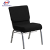 ISO9001 Comfortable Modern Connecting Church Seating Auditorium Chair