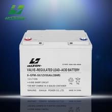 Deep cycle 12v 55ah 12V 55ah solar gel battery car battery wholesale
