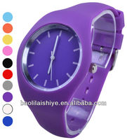 interchangeable strap silicone jelly watch
