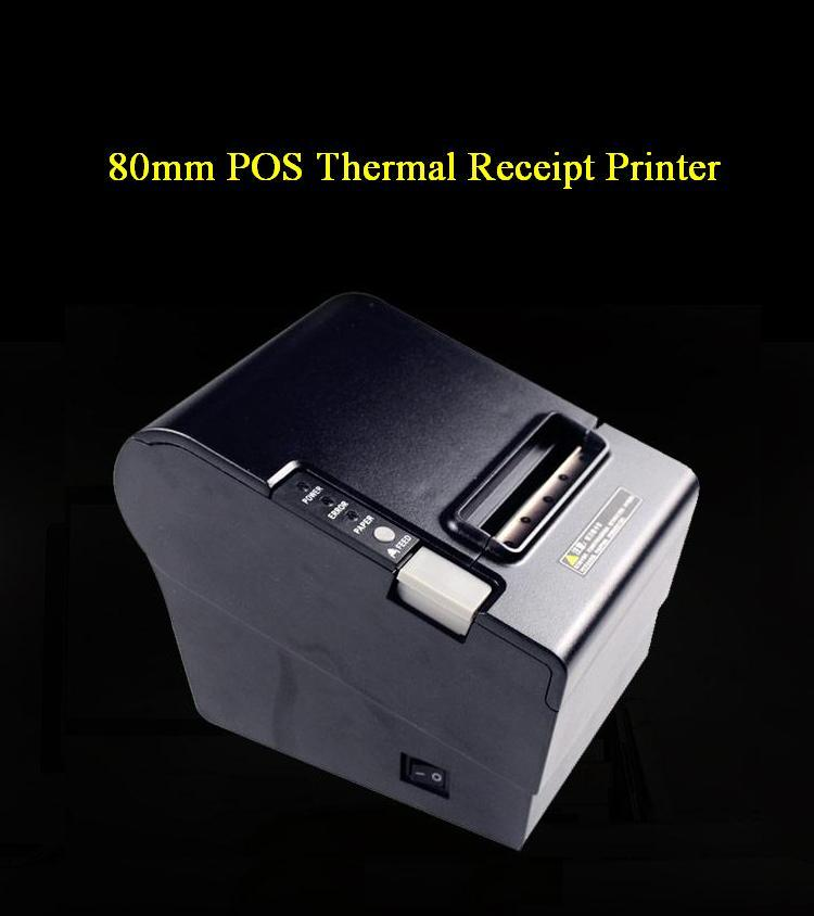 80mm POS USB + Serial or USB + Parallel Thermal Receipt ticket Printer