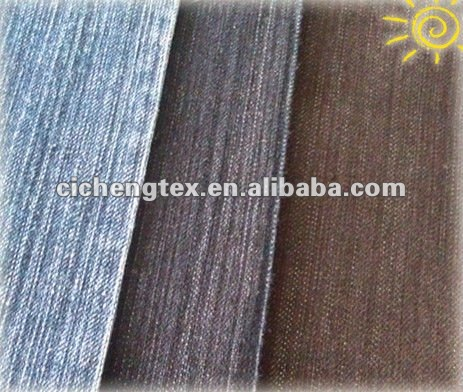 9.4oz ramie cotton slub denim fabric denim like fabric