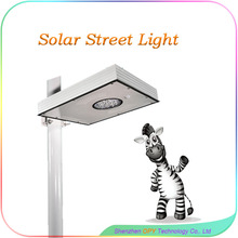 15W Infrared Induction All In One Solar Street Light Parts