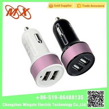 Hot selling Colorful mini usb car charger universal cell phone car charger for phone pad