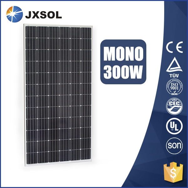china factory best quality solar panel with monocrystalline 300w