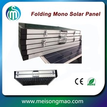 Import solar panel from China folding solar panel 120W monocrystalline silicon for sale
